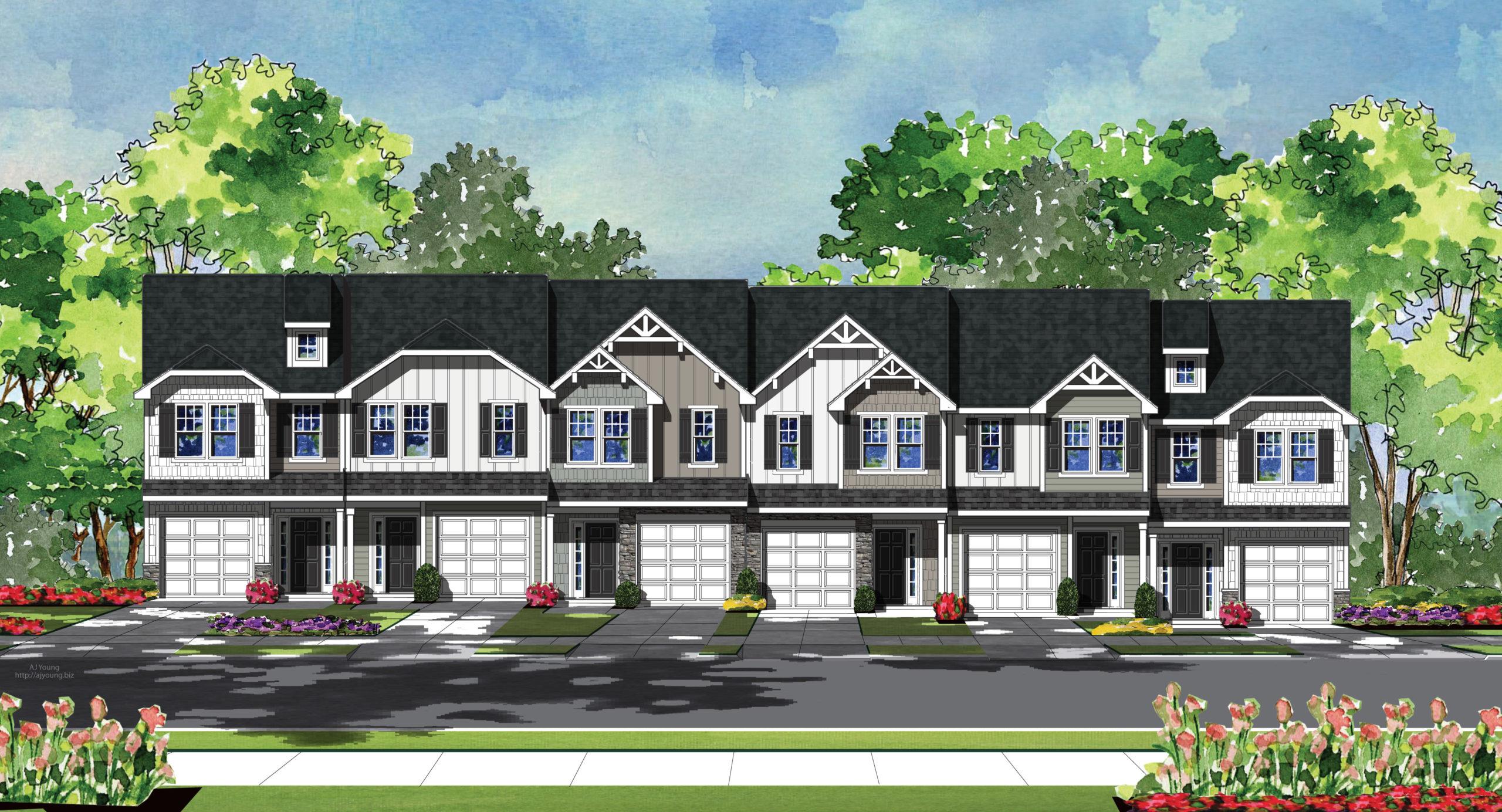Granite Ridge Rental Townhomes
